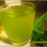 A Refreshing Welcome Drink – Minty Lemonade