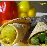 Wraps N Rolls – Veggies in Wholewheat Indian Flat Breads