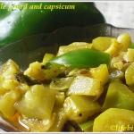 Veggies Made Easy – Bottle Gourd & Capsicum Sabzi