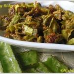Veggies Made Easy – Ridge Gourd Peels Sabzi