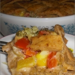 A Healthy Wholewheat Veggie Pot Pie