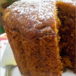 An Easy Steamed Eggless Traditional Christmas Cake