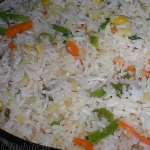 Party Menu – Easy Vegetable Fried Rice & Yogurt Raita