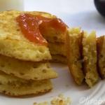 Healthy Wheatgerm Pancakes