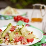 Healthy Quinoa Salad with Feta & Tomato – AFBHLS Guest Post by Simone