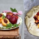 An Eggless Peach & Plum Crostata Recipe and AFBHLS Guest Post from Deeba