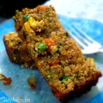 Wholewheat & Veggie Savory Cake – A Healthy Breakfast Treat
