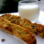 Zucchini & Carrot Wholegrain Biscotti –  A Healthy Tea Time Munch