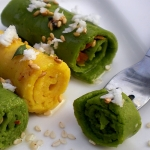 Recipes | Spinach Rolls & Instant Savory Cake – Two Healthy Snacks with Chickpea Flour
