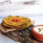 Recipes | Spinach & Radish Thepla – Wholewheat Indian Flat Breads, Perfect Snack & Travel Food