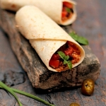 Recipe & Food Styling | Healthy Burritos with Brown Rice – Dreams are the Tiny Seeds..