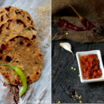 Recipes | Millet Flat-bread and Garlic Spread &#821