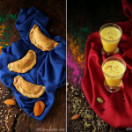 Recipes | Healthy Sweet Empanadas or Gujiyas and A refreshing Drink, Thandai – Celebration of colours and nostalgia