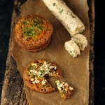 Recipes | Savory Multi Millet Pancakes with Garlic-Herb Cottage Cheese Spread – A guest post for Sia