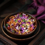 Recipe |Easy and healthy Purple cabbage Coleslaw – Life is too short to be anything but happy