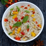 Recipe | Quick Fried Rice with Capsicum and