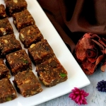 Recipe | Easy Gulkand Mewa Burfi or Fig & Date Fudge with Rose preserve – And I am not complaining..