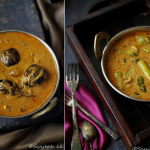Recipes | Curried Green Pepper and Brinjal aka Mirchi and Baingan ka Salan