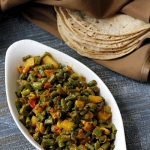 Recipe | Curried Long beans and potatoes – You can find inspiration just about anywhere