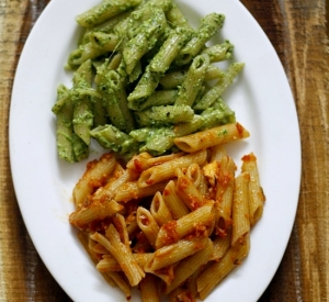 Recipes | Avocado and Tomato Almond Pasta – Staying positive in tough times