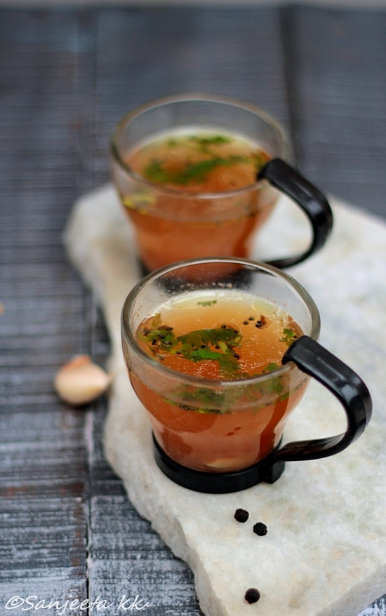 Healthy rasam recipe