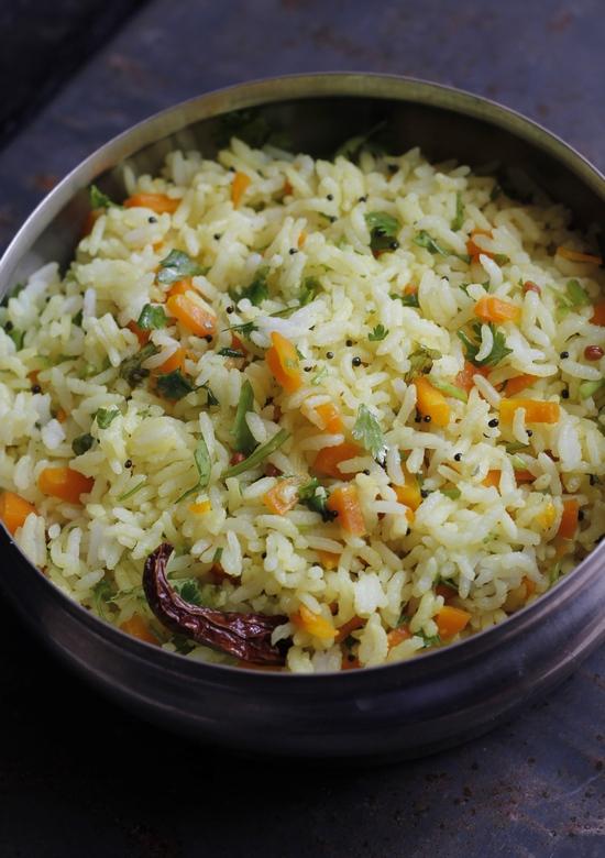 Easy carrot rice recipe