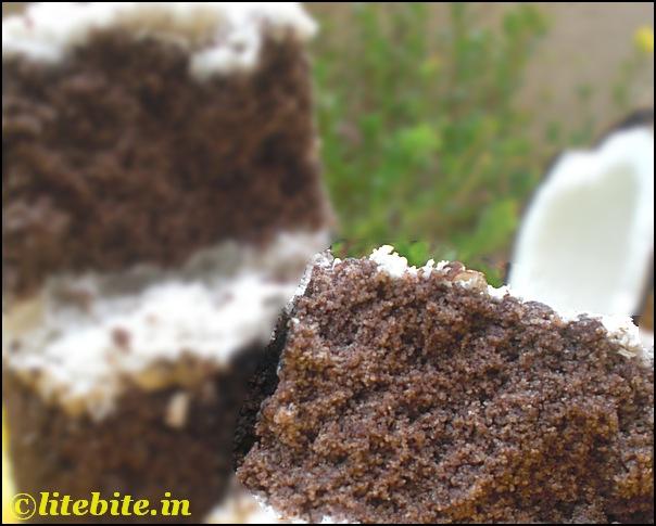 steamed ragi cake