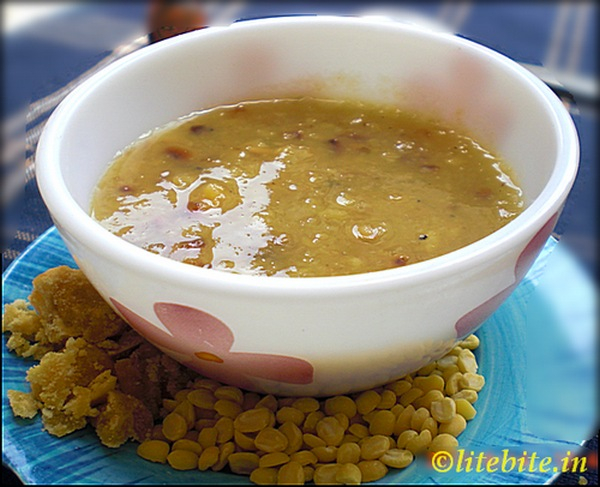 healthy dessert of pulses