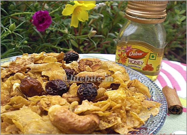 Museli Crumble- a healthy dessert