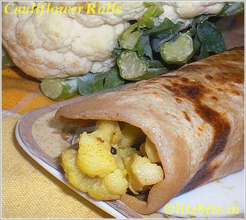 cauliflower rolls