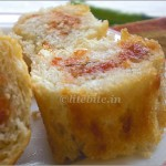 easy baked snack of Dill and cheese
