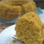 Cornmeal egg less cake