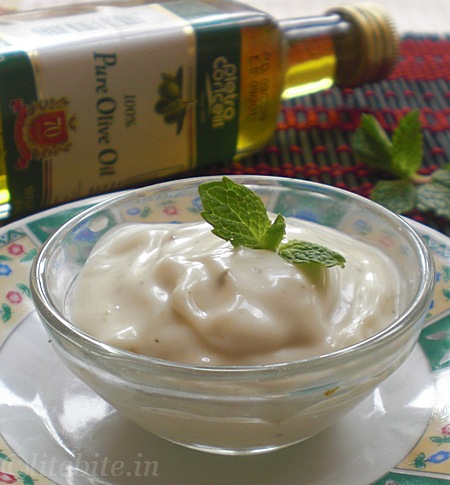 eggless mayonnaise recipes