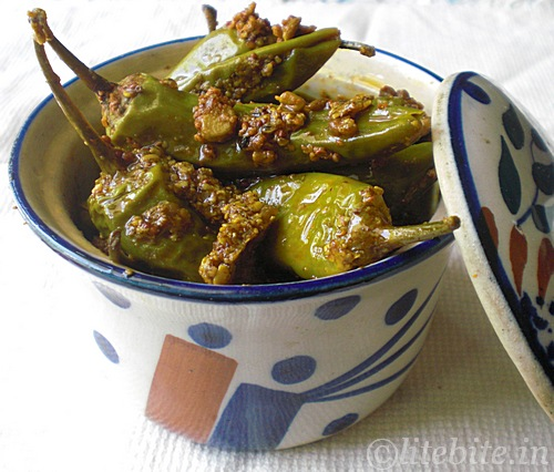 Few Healthy Pickle Recipes – Green Chili Pepper with Chickpea ...