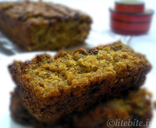 Banana & Oatmeal wholewheat bread