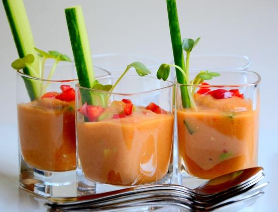 Andalusian Garden Gazpacho soup