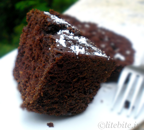 Finger Millet & Chocolate Cake