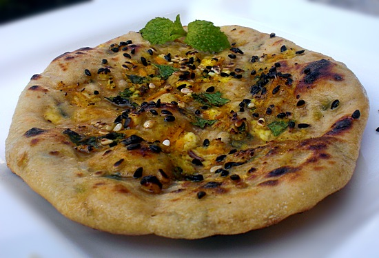 wholewheat indian flat breads - naan