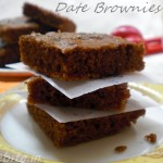 sugar free date brownies