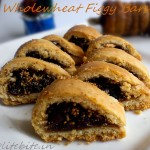 Wholewheat figgy bars