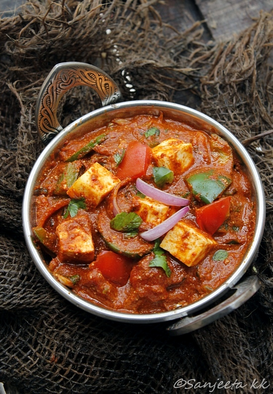 Lite bite kadai paneer recipe and food styling project healthy kadai paneer recipes forumfinder Gallery