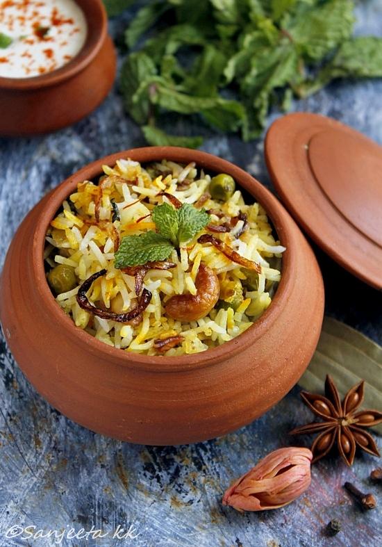 healthy vegetarian biryani reciepe