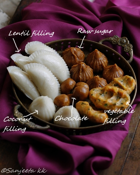 healthy rice dumplings or kozhukattai recipes