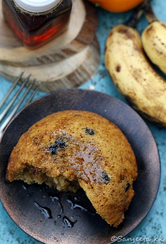 Recipe & Food Styling | Banana Orange Oats Cake